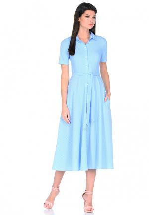 Платье A.Karina. Цвет: голубой