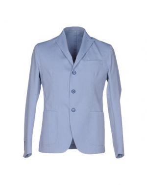 Пиджак ROBERTO PEPE. Цвет: синий