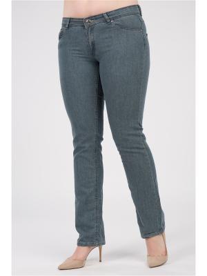 Брюки женские из джинсовой ткани Proto. Цвет: голубой