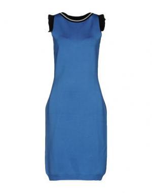 Платье до колена EMANUEL UNGARO. Цвет: пастельно-синий