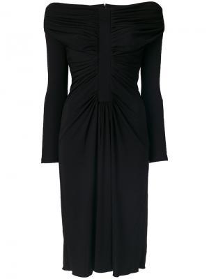 Платье Imogene Altuzarra. Цвет: чёрный
