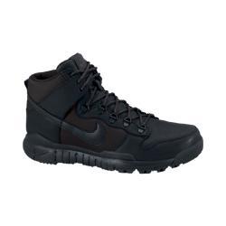 Мужские ботинки  SB Dunk High Nike. Цвет: черный