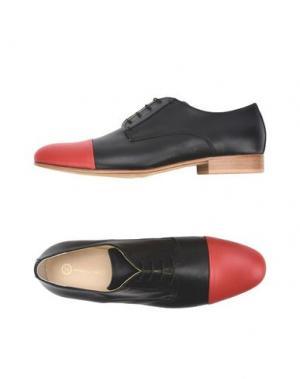 Обувь на шнурках LEONARDO PRINCIPI. Цвет: красный