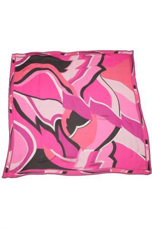 Платок Leonard. Цвет: розовый, фуксия, черный