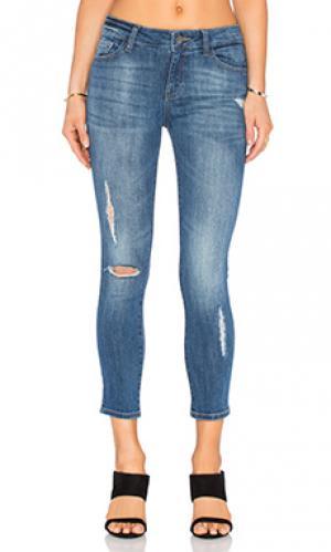 Укороченные джинсы florence DL1961. Цвет: none