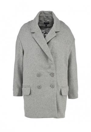 Пальто Brave Soul. Цвет: серый