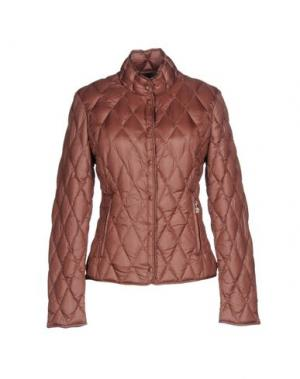 Пуховик BPD BE PROUD OF THIS DRESS. Цвет: светло-коричневый