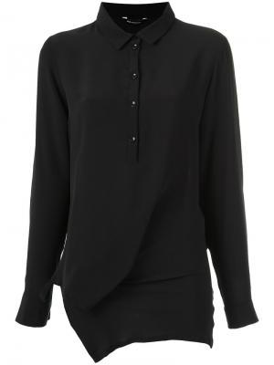 Silk shirt Uma | Raquel Davidowicz. Цвет: чёрный