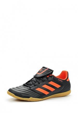 Бутсы зальные adidas. Цвет: черный