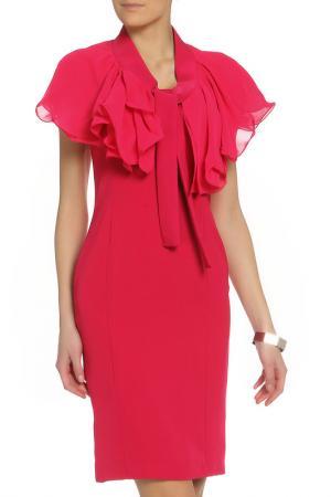 Платье XS MILANO. Цвет: коралловый