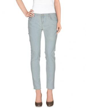 Повседневные брюки INTROPIA. Цвет: синий