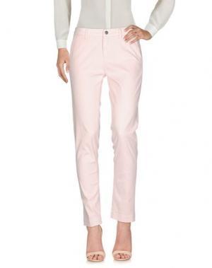 Повседневные брюки PEUTEREY. Цвет: светло-розовый