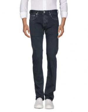 Джинсовые брюки RA-RE. Цвет: стальной серый