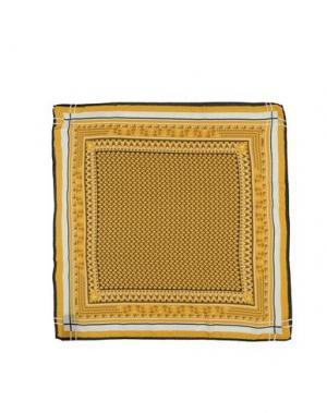 Платок FENDI. Цвет: желтый