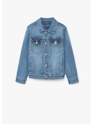 Куртка - JOHN Mango kids. Цвет: синий