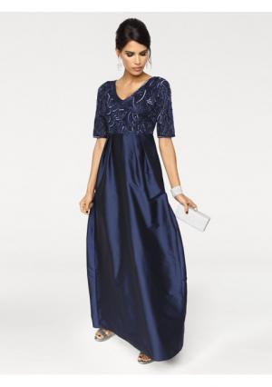 Вечернее платье Ashley Brooke. Цвет: темно-синий