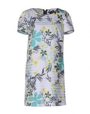 Короткое платье JEI O'. Цвет: белый