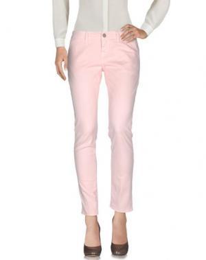 Повседневные брюки 2W2M. Цвет: розовый