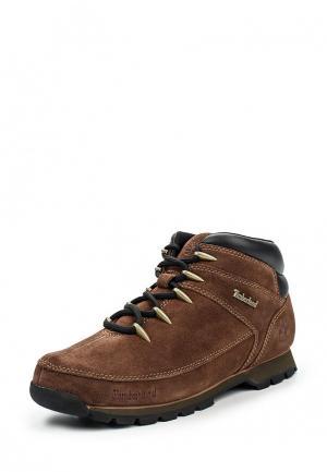 Ботинки трекинговые Timberland. Цвет: коричневый