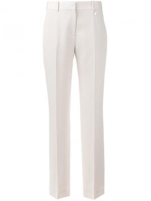 Классические брюки Givenchy. Цвет: розовый и фиолетовый