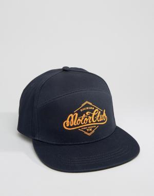 Dickies 7-панельная кепка Hennings. Цвет: темно-синий