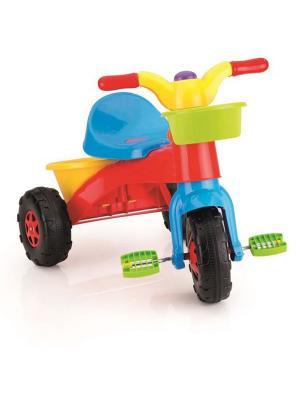 Мой первый велосипед разноцветный Dolu.. Цвет: красный