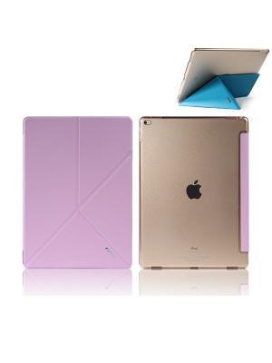 Чехол откидной Apple iPad Pro 12,9 Remax Transformer розовый. Цвет: розовый