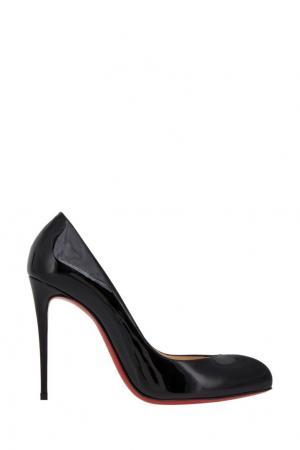 Кожаные туфли Breche 100 Christian Louboutin. Цвет: черный