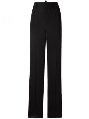 Расклешенные брюки Dsquared2. Цвет: чёрный