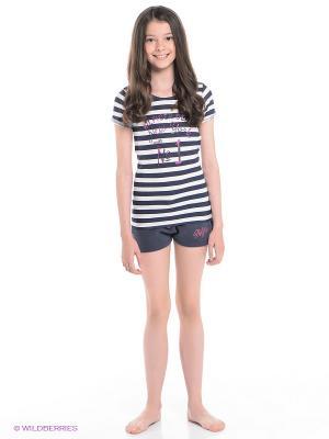 Пижама Tommy Hilfiger. Цвет: темно-синий, белый