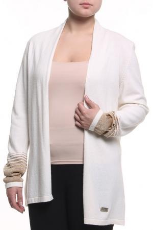 Кардиган Paola Joy. Цвет: белый