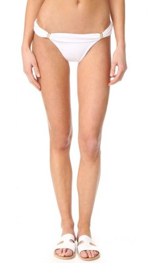 Закрытые плавки бикини Bia с трубками ViX Swimwear. Цвет: белый