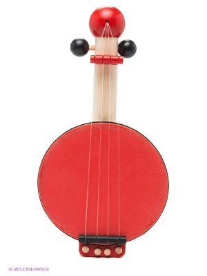 Банджо PLAN TOYS. Цвет: красный