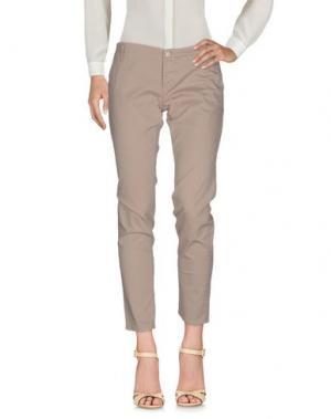 Повседневные брюки FIFTY FOUR. Цвет: песочный