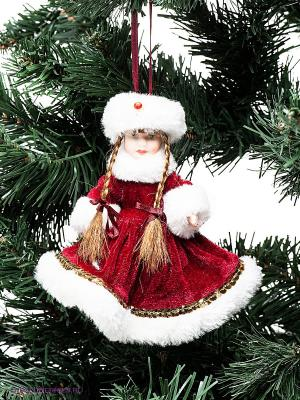 Кукла Снегурочка Holiday Classics. Цвет: бордовый, белый