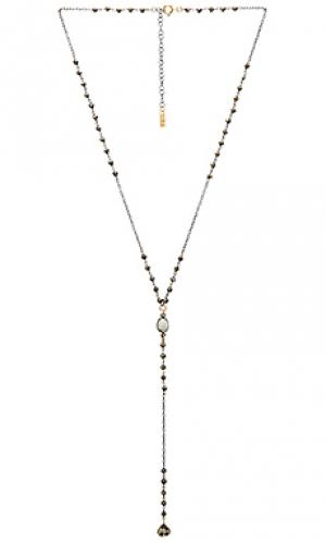 Ожерелье в форме лассо stevie Natalie B Jewelry. Цвет: металлический серебряный