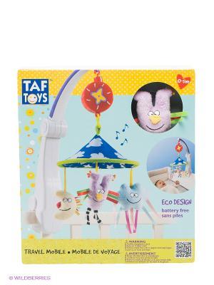 Игрушка Мобиль для путешествий TAF TOYS. Цвет: голубой, желтый