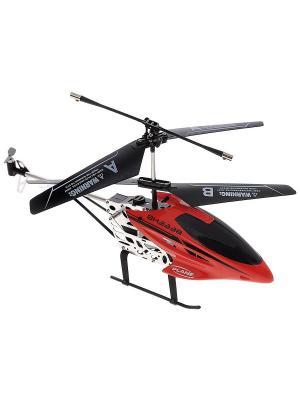 Вертолет на радиоуправлении Снегирь красный ВластелиНебес. Цвет: красный