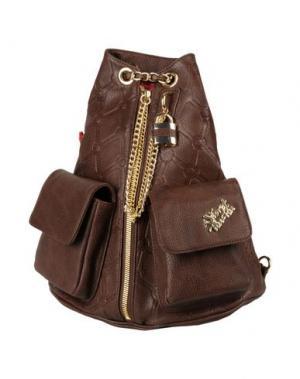 Рюкзаки и сумки на пояс SECRET PON-PON. Цвет: темно-коричневый