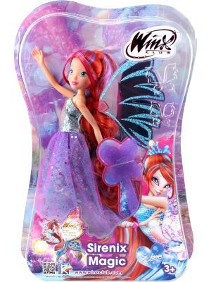 Кукла Winx Club Чудесная Сиреникс Блум. Цвет: рыжий, фиолетовый