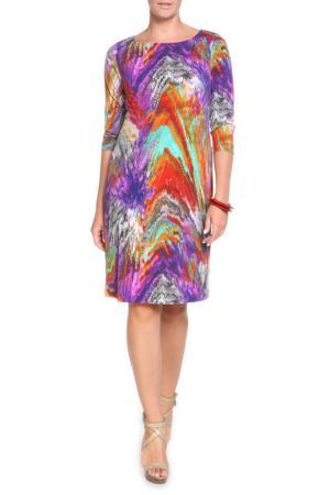 Платье RITA PFEFFINGER. Цвет: цветной