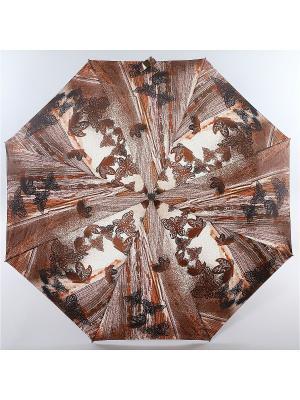 Зонт Zest, 3 слож, ПолнАвто, П-Э Zest. Цвет: черный, белый, коричневый