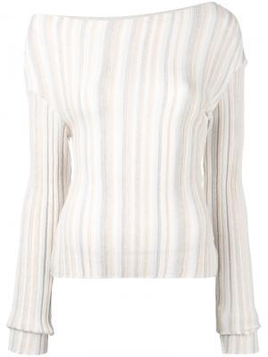 Knitted top Jacquemus. Цвет: телесный