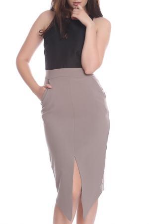 Платье Moda di Chiara. Цвет: black and beige