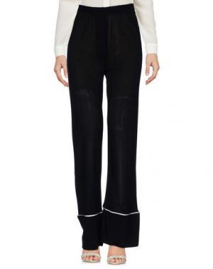 Повседневные брюки LANEUS. Цвет: черный