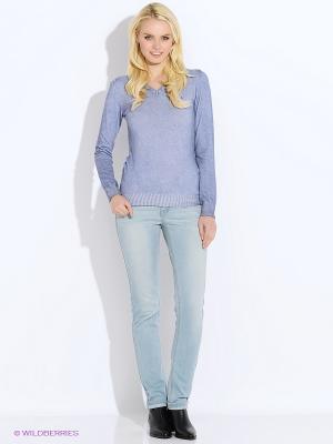 Пуловер Staff. Цвет: голубой