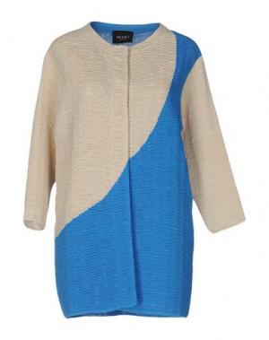Легкое пальто NEERA. Цвет: лазурный
