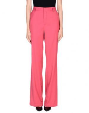 Повседневные брюки VIRNA DRÒ®. Цвет: фуксия