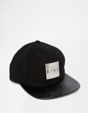King Apparel Бейсболка Vector. Цвет: черный