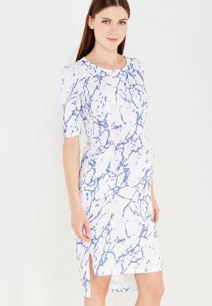 Платье MilkyMama. Цвет: белый